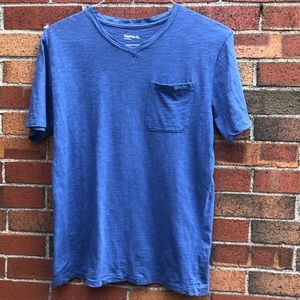 Gap v neck blue tee